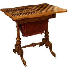 19th Century Games and Work Table