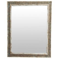 Mirror in a Distressed Frame