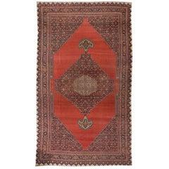 Simply Beautiful Antique Bidjar Rug