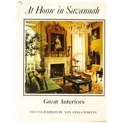 """""""At Home in Savannah, Great Interiors"""", Book First Edition"""