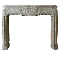 Regency Stone Fireplace, 18th Century
