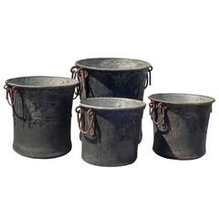 Provencal Pot de Confiture, Set of Four
