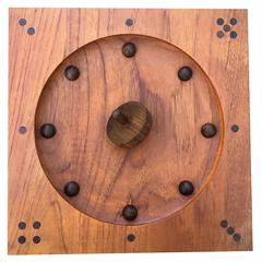 Teak Roll-Ette Game by Piet Hein for Skjøde of Skern