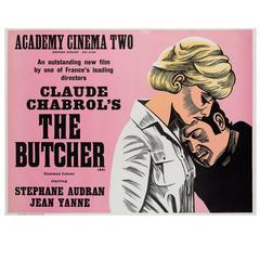 Butcher Original UK Film Poster, Peter Strausfeld, 1970s