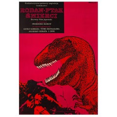 Rodan! The Flying Monster! Original Polish Film Poster, Janusz Rapnicki, 1967