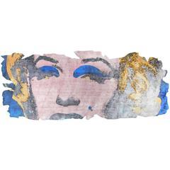 Henzel Studio Andy Warhol Rug Marilyn Barivierra Ice Cut PR 031H
