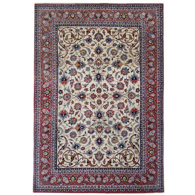 Persian Rugs, Carpet from Isfahan