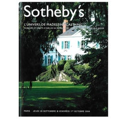 L'Univers de Madeleine Castaing, Sotheby's Sale Catalogue