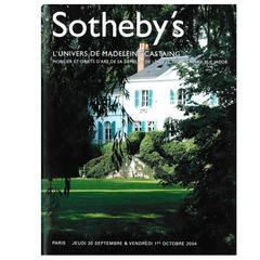 L'Univers de Madeleine Castaing, Sotheby's Sale Catalogue