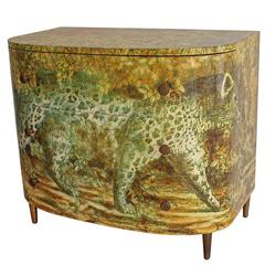 1960s 'Leopardo' Chest of Drawers by Piero Fornasetti