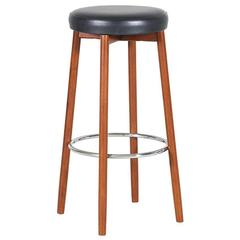Danish Modern Teak Bar Stool by Spøttrup Møbelfabrik