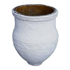 White-Washed Storage Jar