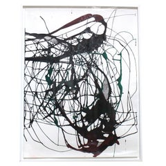 Untitled 2, Drawing, Ink, Acrylic and Charcoal on Paper