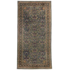 Antique Indian Agra Palace Size Rug with Rococo Regency Style