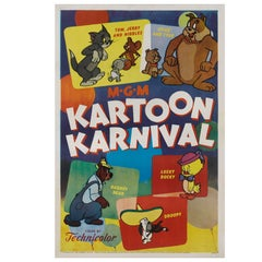 """Kartoon Karnival"" Original US Movie Poster"