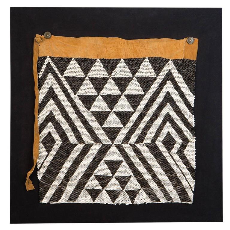 Early 20th Century Yei Beaded Apron, Botswana For Sale