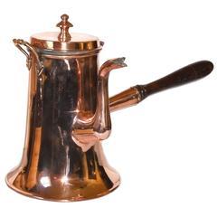 Massive Copper Coffee Pot