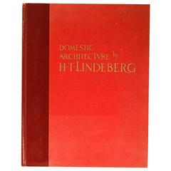 Domestic Architecture of H.T. Lindeberg, Ltd first Edition