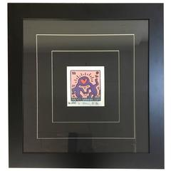 Keith Haring, Pink Love