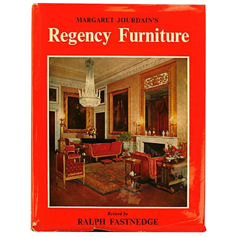 Regency Furniture 1795-1820 by Margaret Jourdain, 1st Ed For Sale