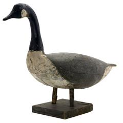 Canada Goose Decoy, Attributed to Samuel Soper, circa 1910