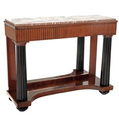 Neoclassical Console Table Italy, 19th Century