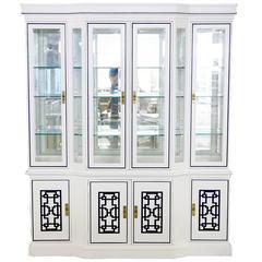 Drexel Fretwork Cabinet