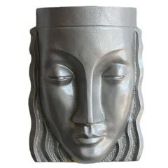 Art Deco Sculptural Female Face Wall Sconce, Rare **Saturday Sale**