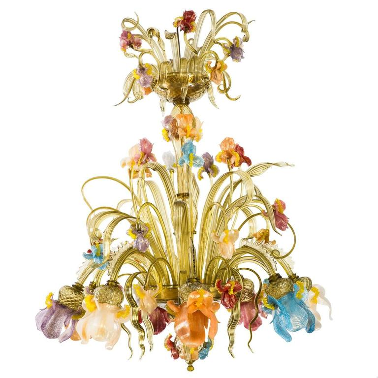 Iris Chandelier For Sale At 1stdibs