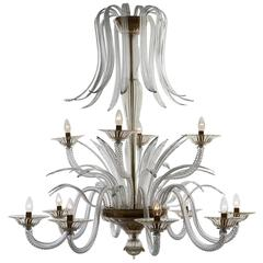Palm Murano Glass Chandelier