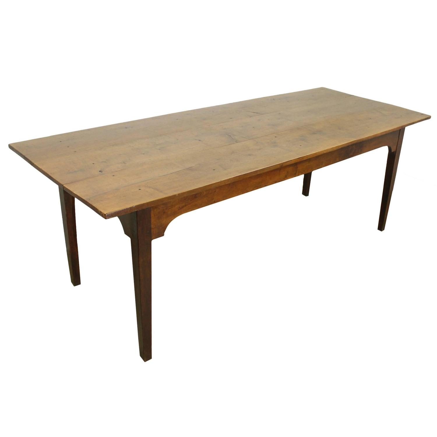 Antique Applewood Farm Table For Sale At 1stdibs