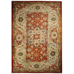 Antique Persian Ziegler Mahal Carpet from Sultanabad
