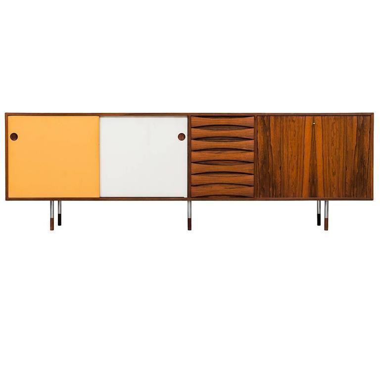 sideboard model 29a by arne vodder at 1stdibs. Black Bedroom Furniture Sets. Home Design Ideas
