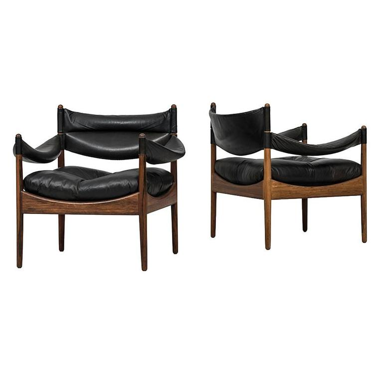 Kristian Solmer Vedel Easy Chairs Model Modus by Søren Willadsen in Denmark For Sale