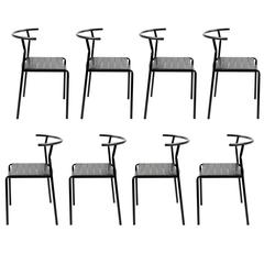 Philippe Starck Eight 'Café Chairs' for Baleri Italia, 1984, Café Costes Paris