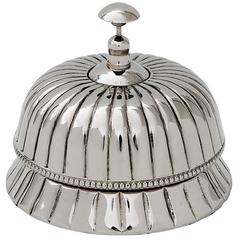 Hotel Bell in Polished Nickel Finish
