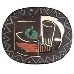 "Picasso Madoura ""Nature Morte"" Ceramic Dish, 1953"