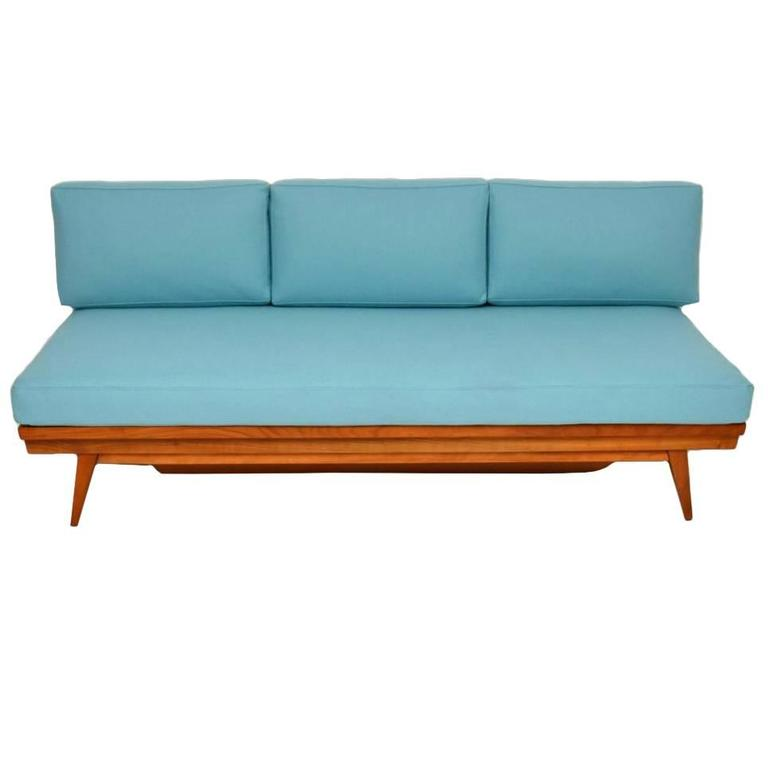 Retro sofa daybed by wilhelm knoll vintage 1950s at 1stdibs Retro loveseats