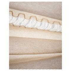 Contemporary Custom Italian Sheer Fabric and Curtain 'Greca Verticale'