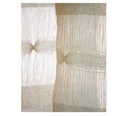 Contemporary Custom Italian Sheer Fabric and Curtain 'Liibellula'
