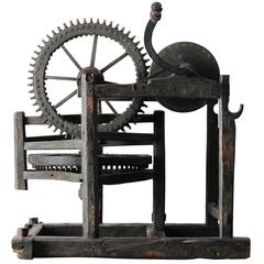 18th Century Hand Powered Machine