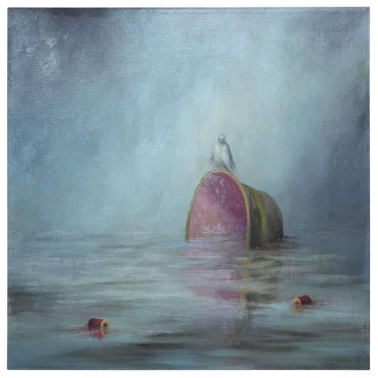 """""""Lucky Bird"""" Oil on Canvas by Joe Concra"""