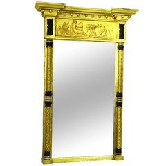 Antique Regency Gilt Pier Mirror
