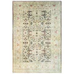 Amazing Hajji Jalili Tabriz Carpet