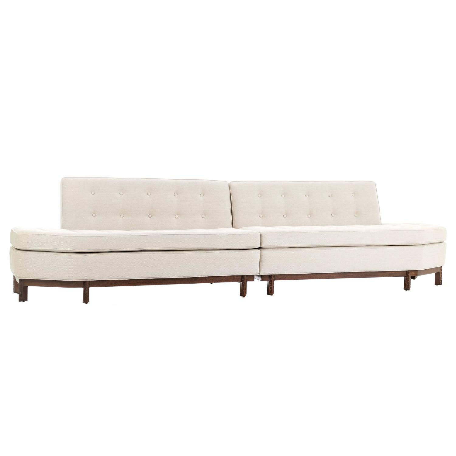 Frank Lloyd Wright Sectional Sofa For Sale at 1stdibs