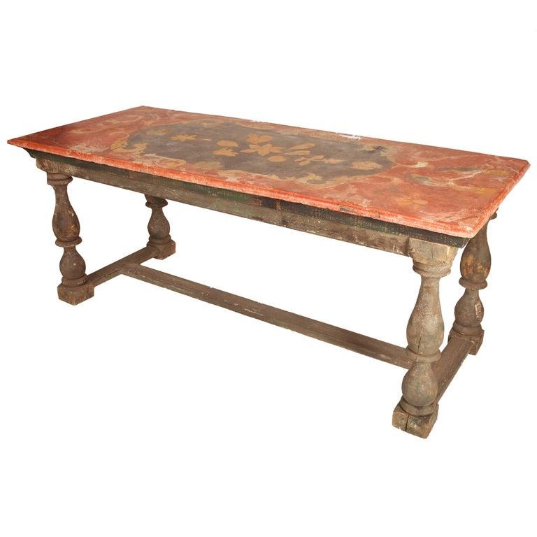 Pair of 18th Century Italian Chalk Tables