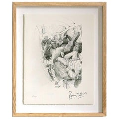 """Gig Wagon"" Signed Limited Edition Framed Print by Ronnie Wood"