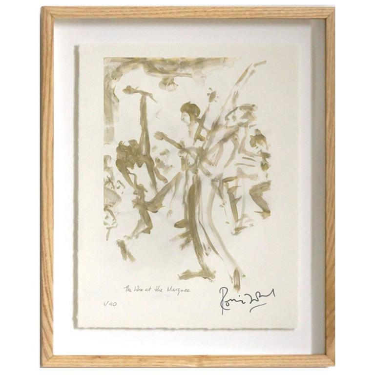"""The Who"" Signed Limited Edition Framed Print by Ronnie Wood"
