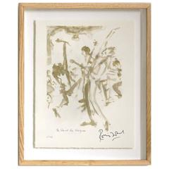 """""""The Who"""" Signed Limited Edition Framed Print by Ronnie Wood"""