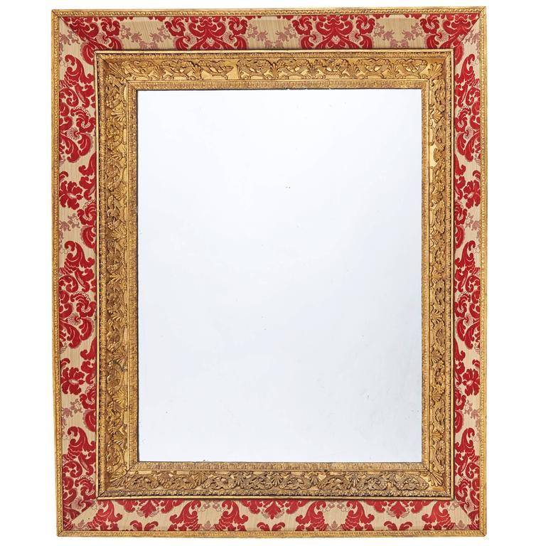 Large French Restauration Giltwood Mirror, circa 1820
